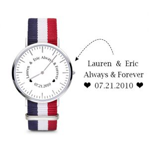 Women's Engraved Watch Custom Gift